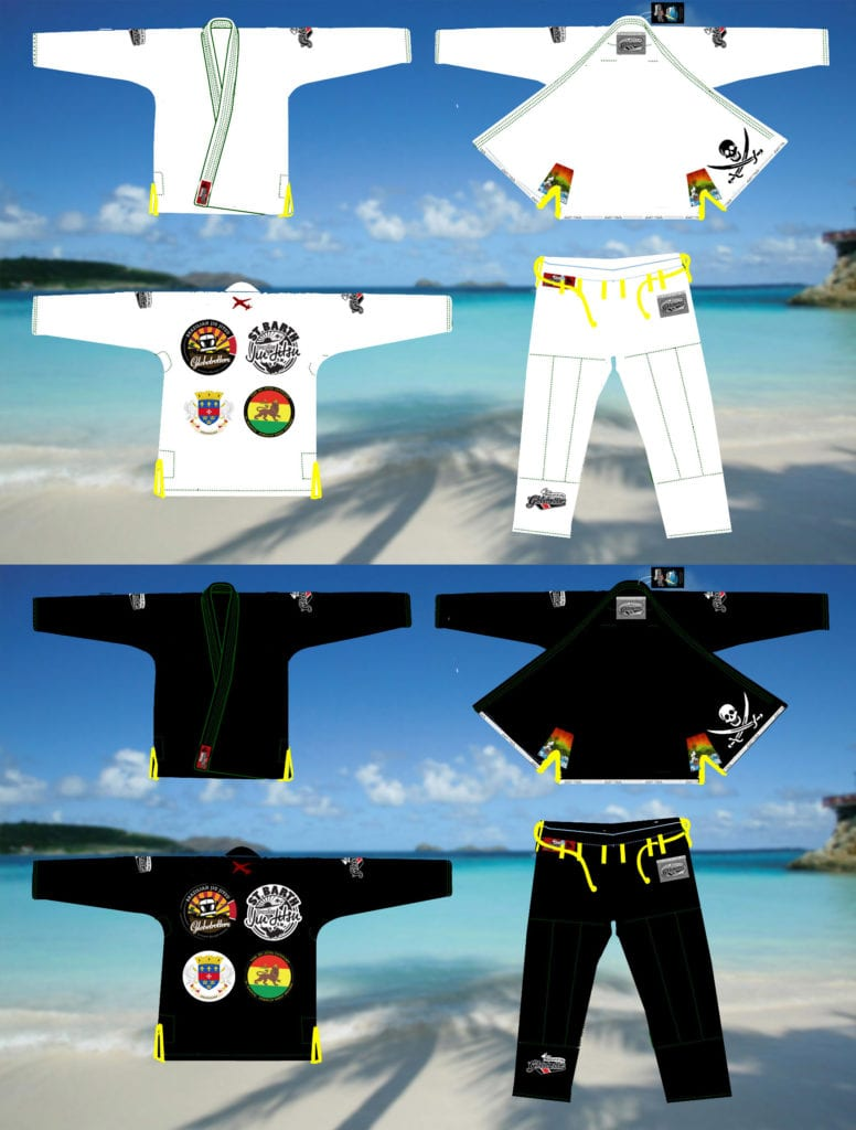 Caribbean Island 2016 Travel gi v2 design BOTH COLORS