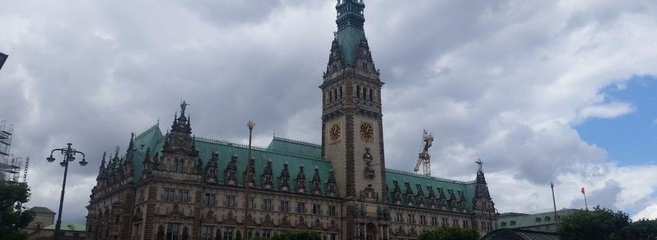 The Rathaus.
