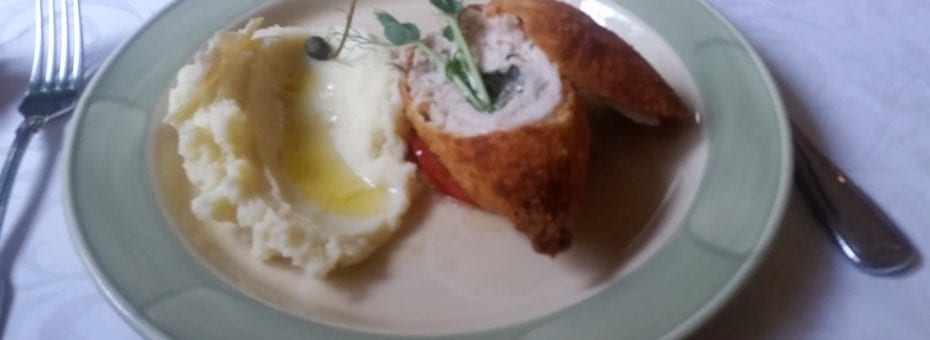 Chicken Kiev, seemed only I have while actually visiting Kiev.