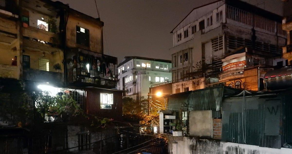 Hanoi, Vietnam: the city at night