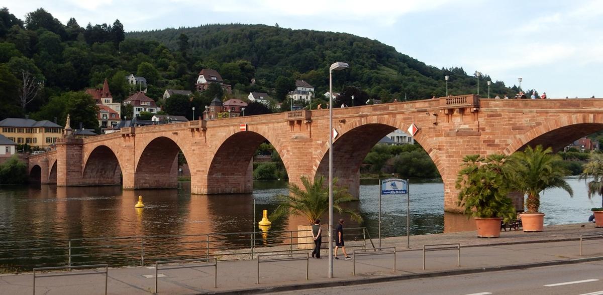 Summer Camp 2019 in Heidelberg: Bridger over the Neckar