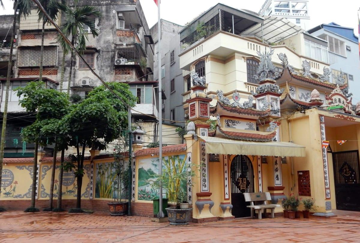 Hanoi, Vietnam: temples and the city