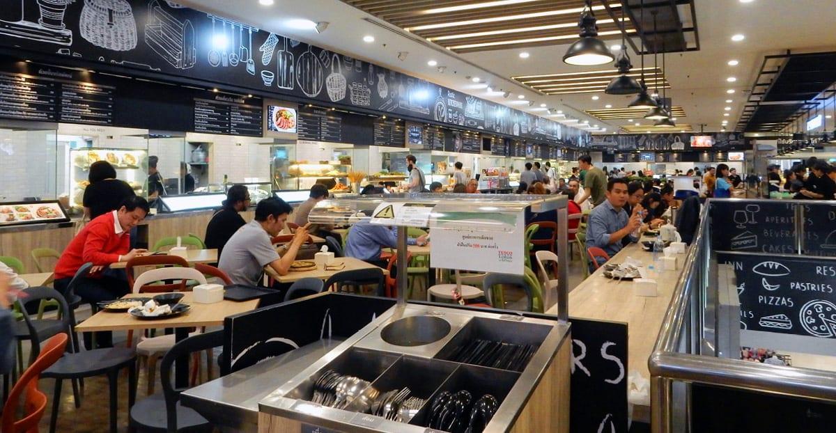 Bangkok, Thailand: Food court